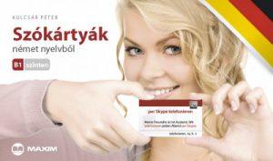 Szókártyák német nyelvből - B1 szinten - Újrakezdőknek és középhaladóknak